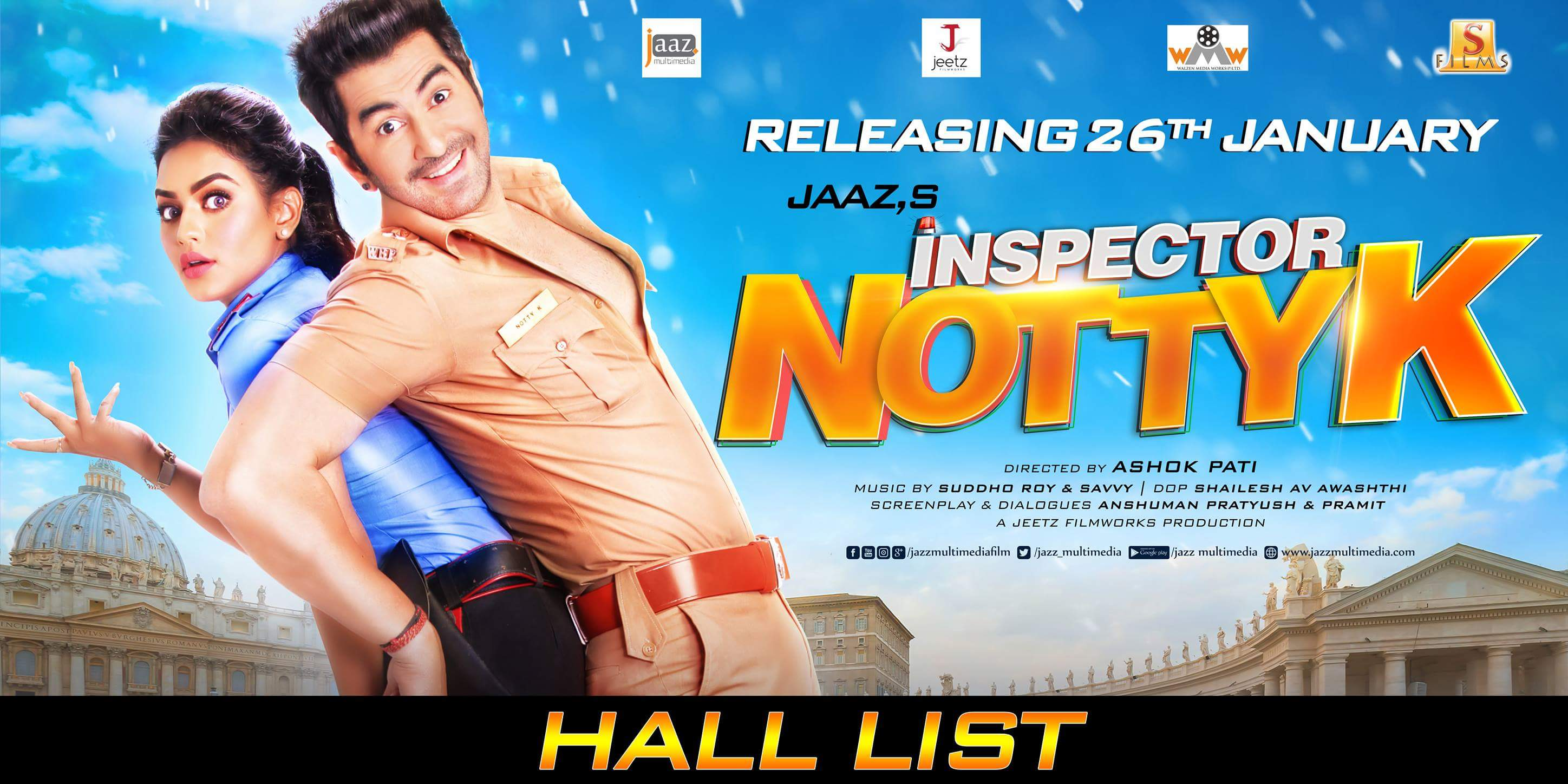Inspector Notty K (2018) Bengali Full Movie 480p DVDScr 350MB MKV *Eid Special*