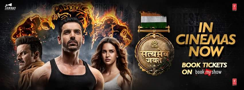 Satyameva Jayate (2018) Hindi Full Movie 720p DVDScr 700MB Download